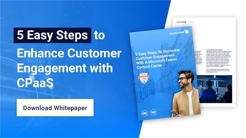 Download whitepaper: 5 easy steps to enhance customer engagement
