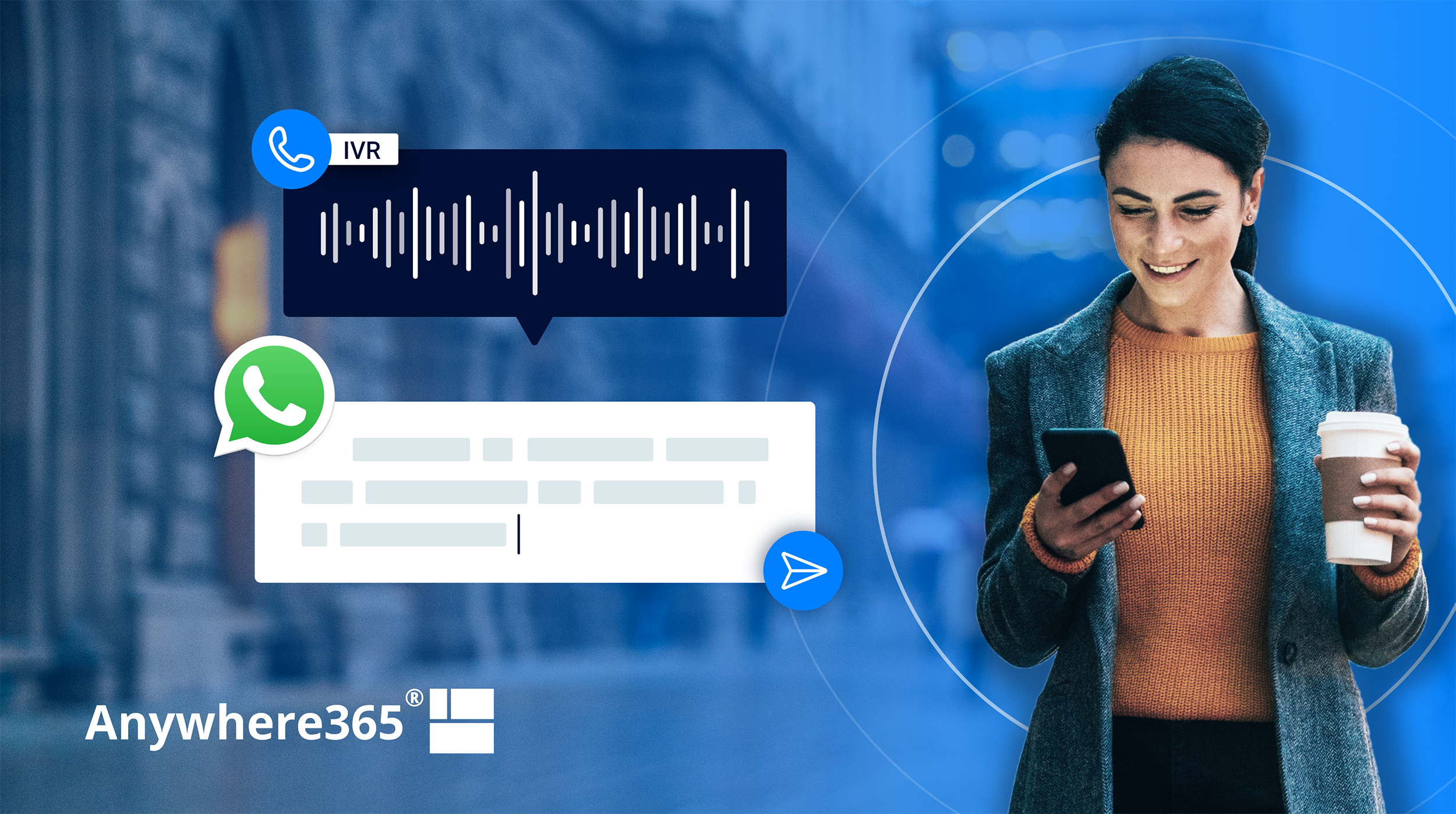 Deflect calls from your voice IVR to WhatsApp